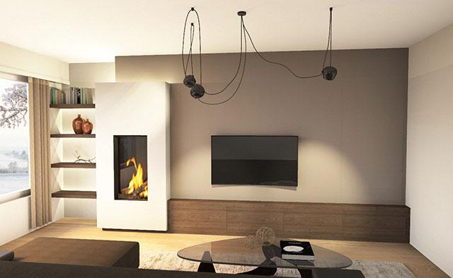 Nieuw interieur met haard gratis advies bij alpha heating for Interieur advies gratis