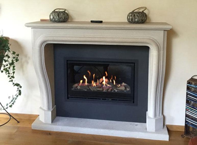 Bekend Laat uw open haard ombouwen en spaar energie | Alpha Heating CQ91